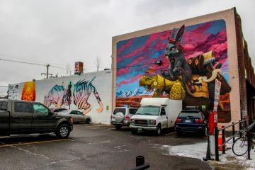 Graffiti Art at Denver Central Market
