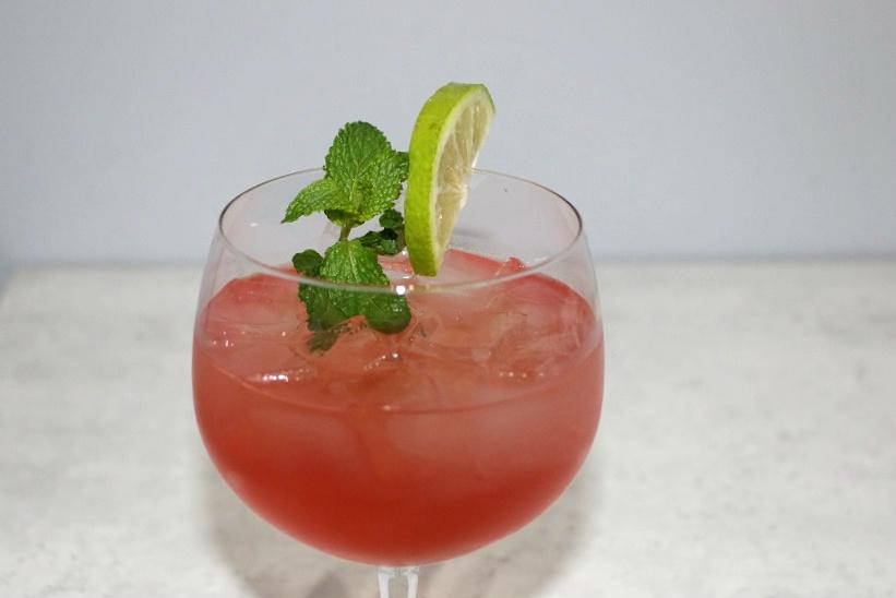 Cointreau Cranberry Summer Cocktail