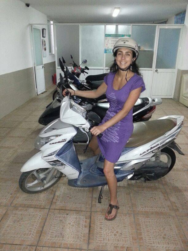 Lady-On-Motorbike