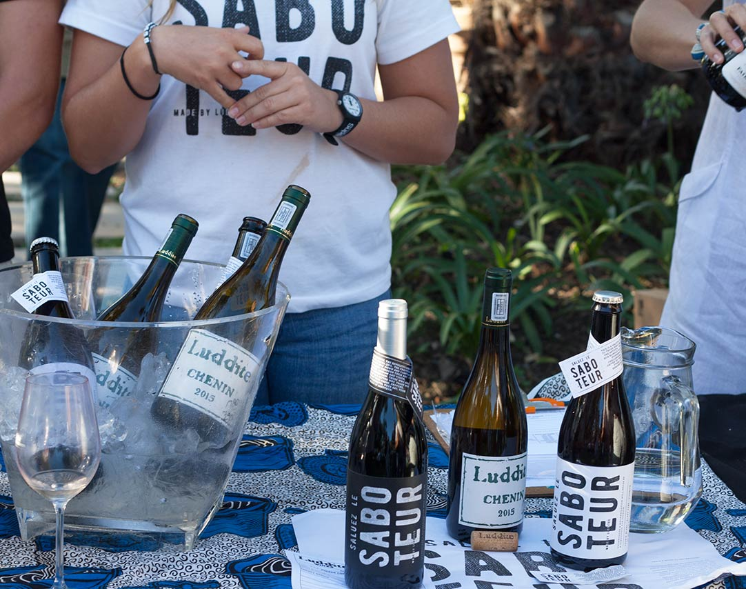 Saboteur white wine at Constantia Fresh