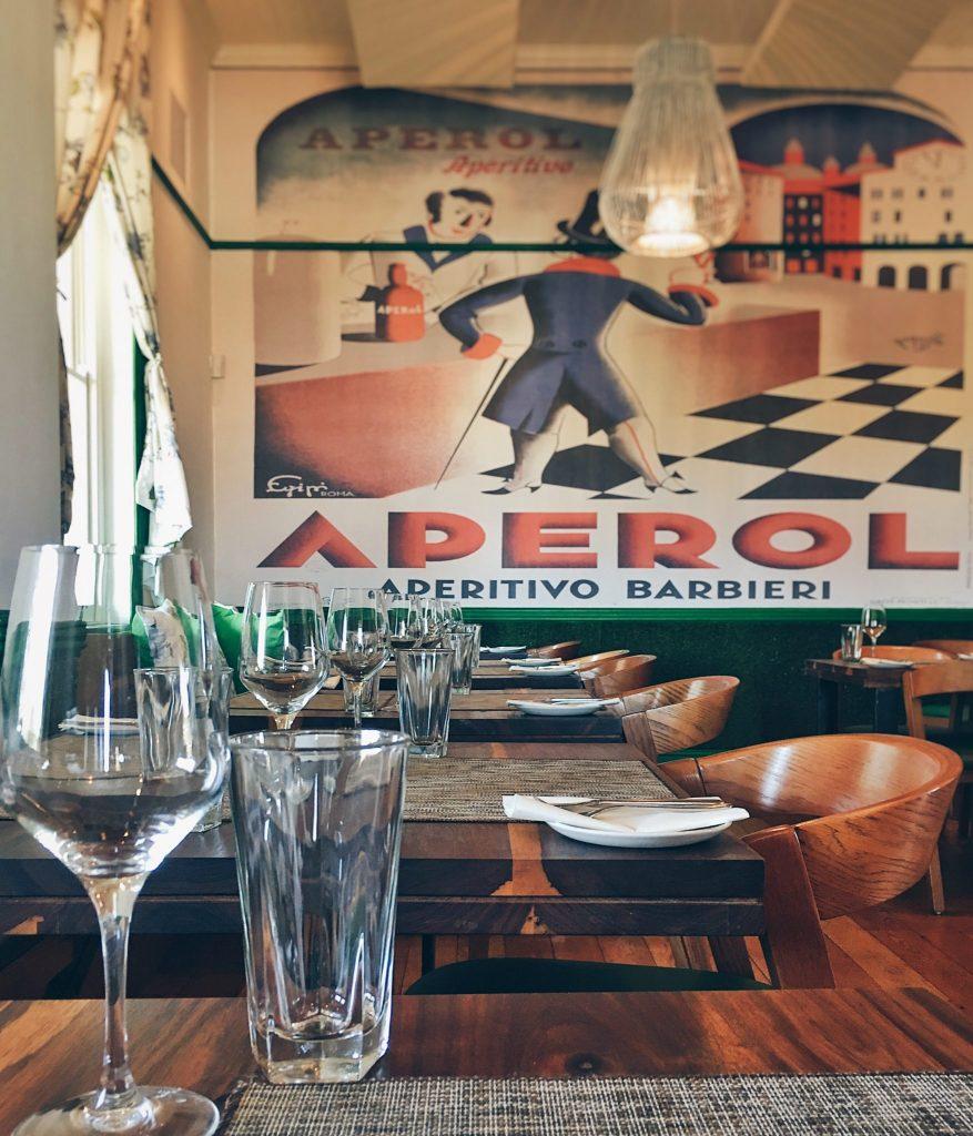 95 at Parks Restaurant Cape Town Decor