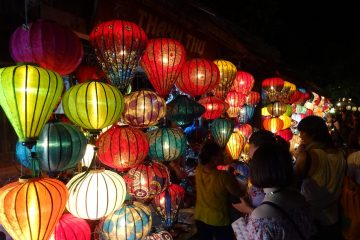 Beautiful Lanterns in Hoi An's Old Town
