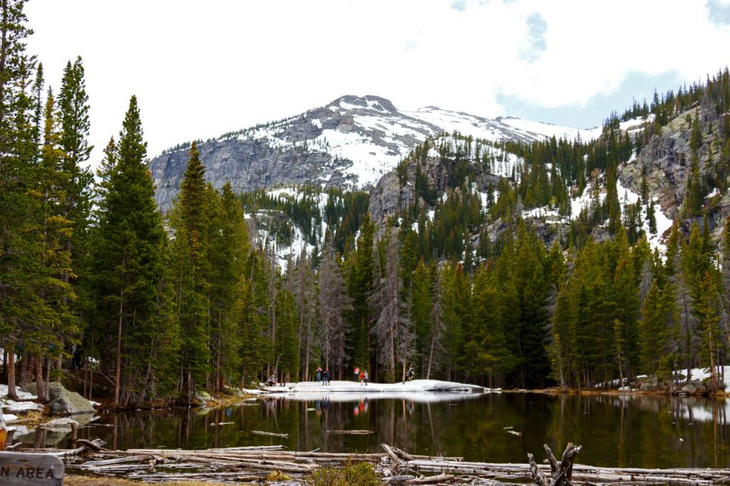 Nymph Lake at Colorado's Rocky Mountains National Park