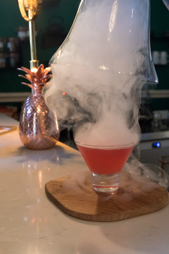 A Cocktail at The Stack in Cape Town South Africa