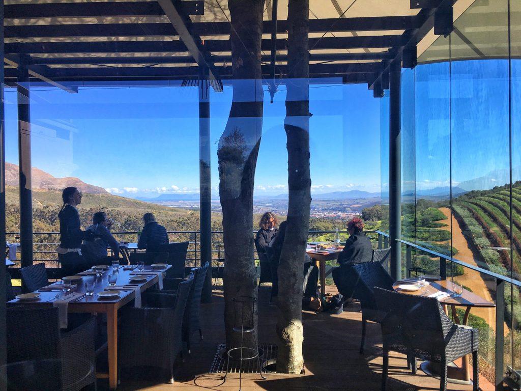 Tokara Restaurant Stellenbosch Restaurant View