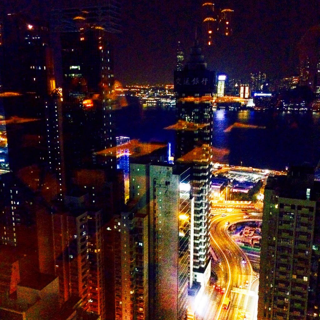 From Cape Town to Hong Kong night skyline