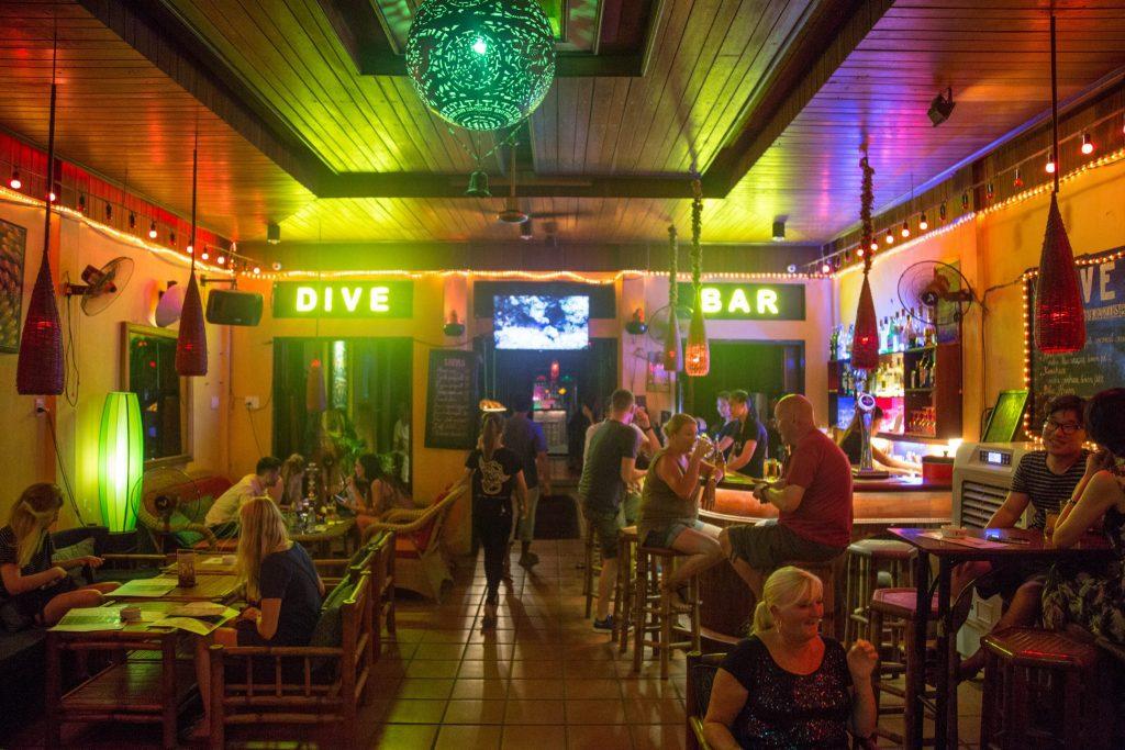 Hoi An Nightlife inside Dive Bar