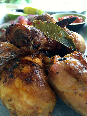 Mozambican Peri Peri Chicken Recipe Plated