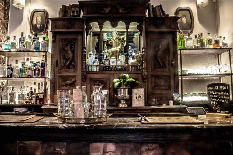 The Secret Gin Bar in Cape Town, bar two of the Forager Gin event