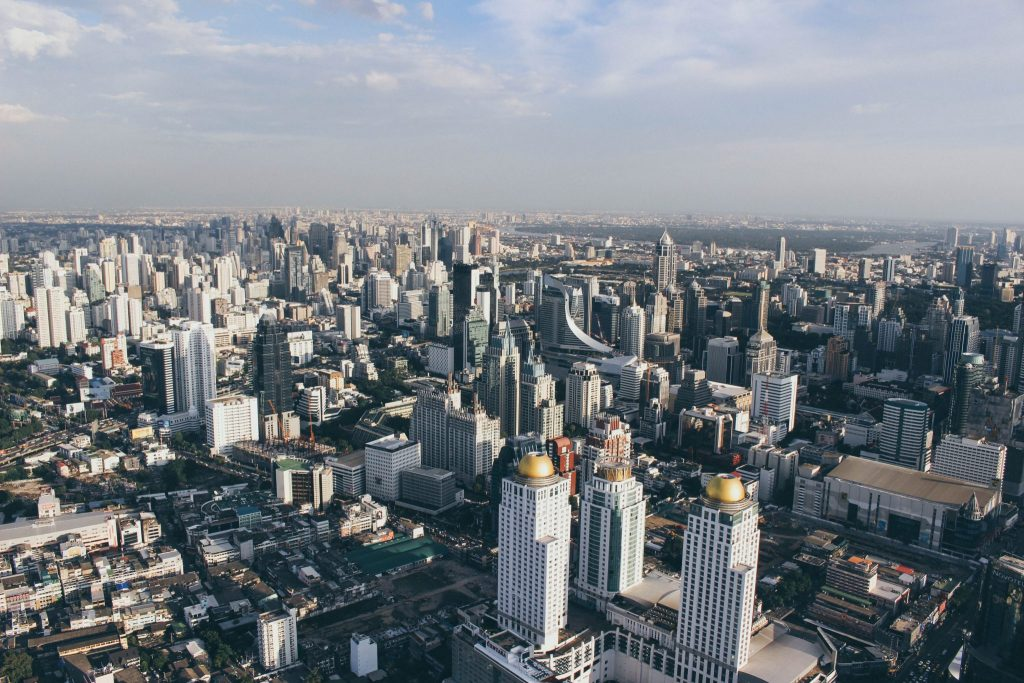 Baiyoke Sky Tower in Bangkok Thailand