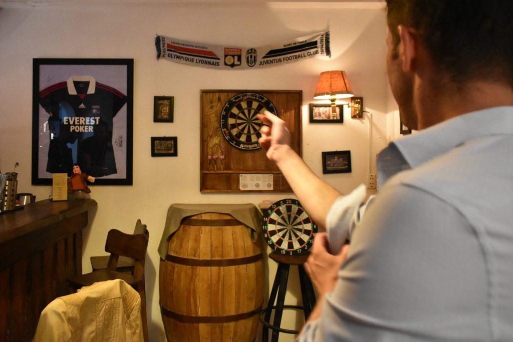 Darts at Chez Cesar