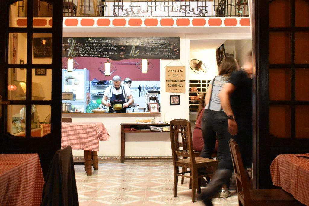 Chez Cesar Cooking
