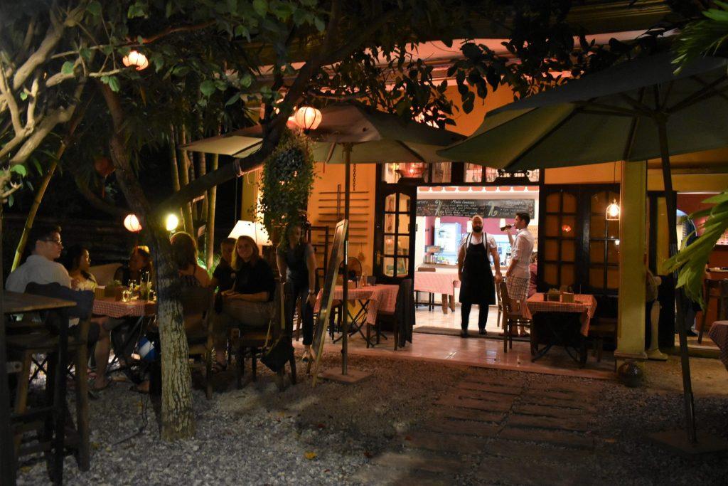 Courtyard at Chez Cesar