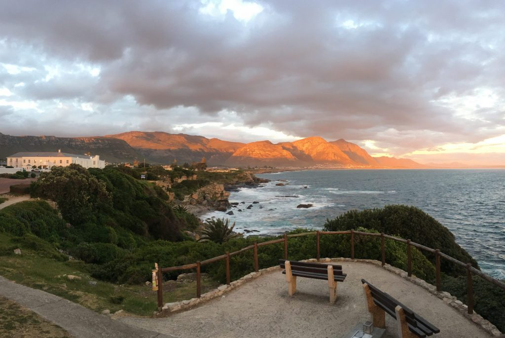 The Cliff Walk in Hermanus South Africa