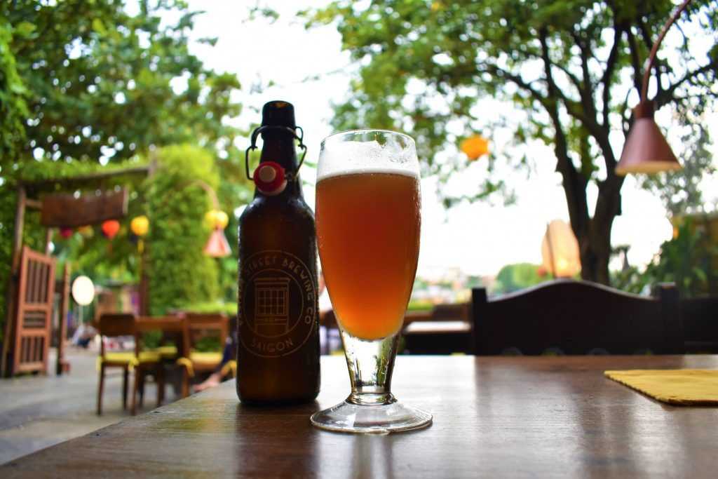 Craft Beer at Mai Fish Restaurant in Hoi An Vietnam