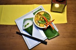 Prawn Curry dish at Mai Fish Restaurant in Hoi An Vietnam