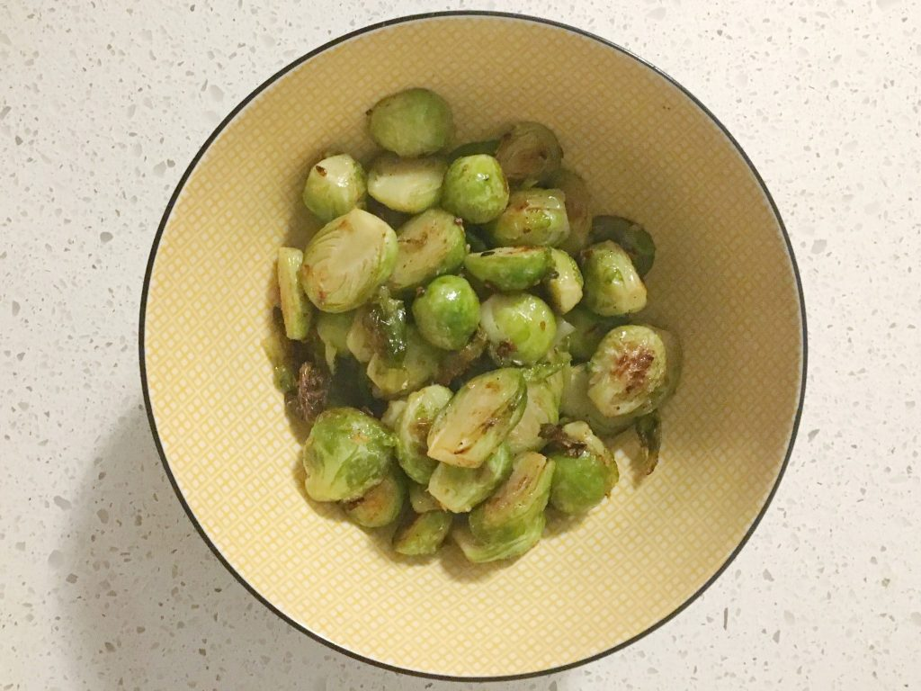 Brussels Sports Recipe from The Edgy Veg