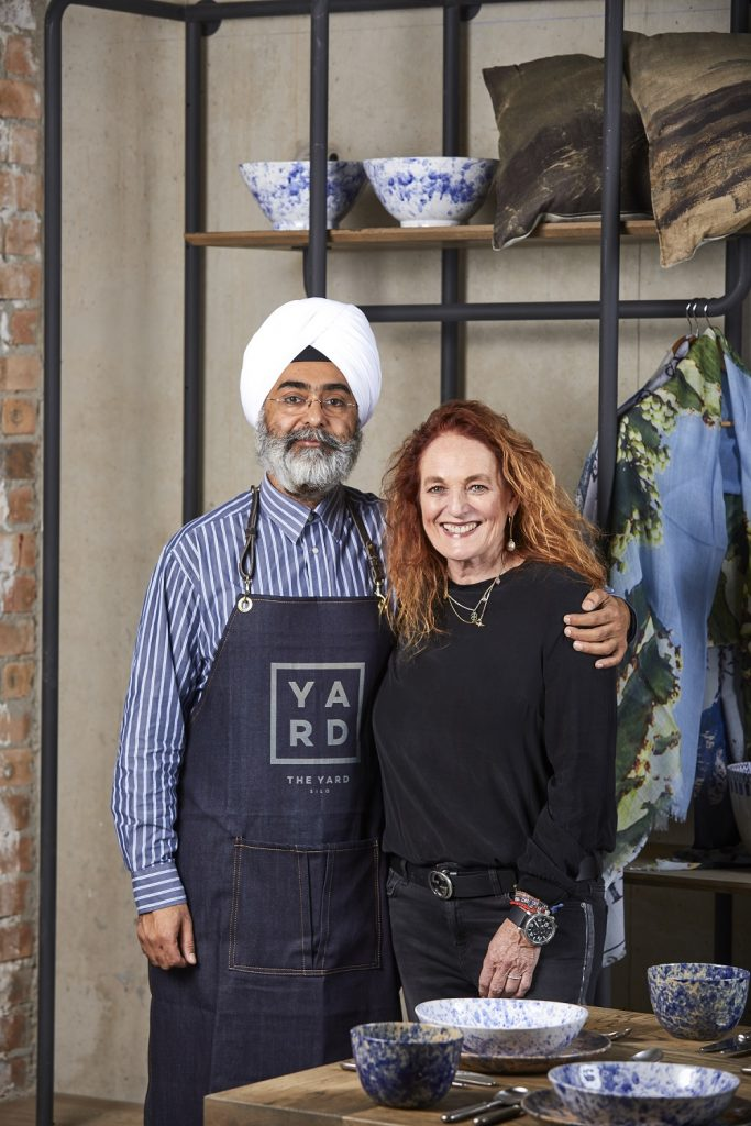 The Yard owners Abigail Bisogno and GP Singh
