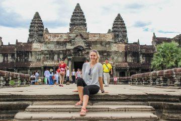 Julie July in Cambodia