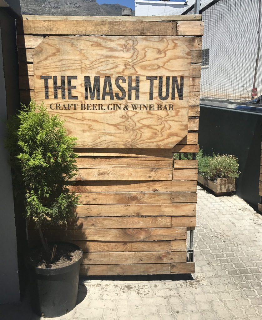Brunch at the Mash Tun in Cape Town