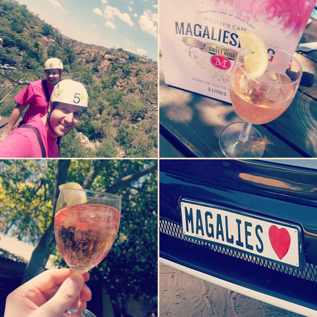 Collage from Magaliesburg Adventure