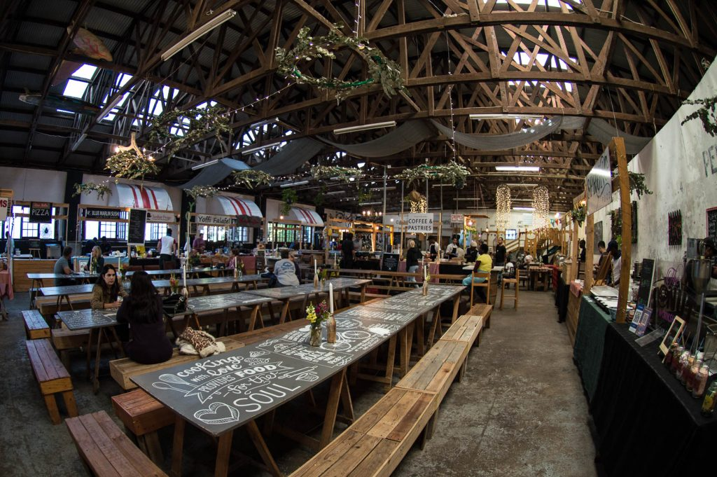 Cape Town Food Markets: Bluebird Garage Market