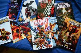 Marvel Superhero Comic Books