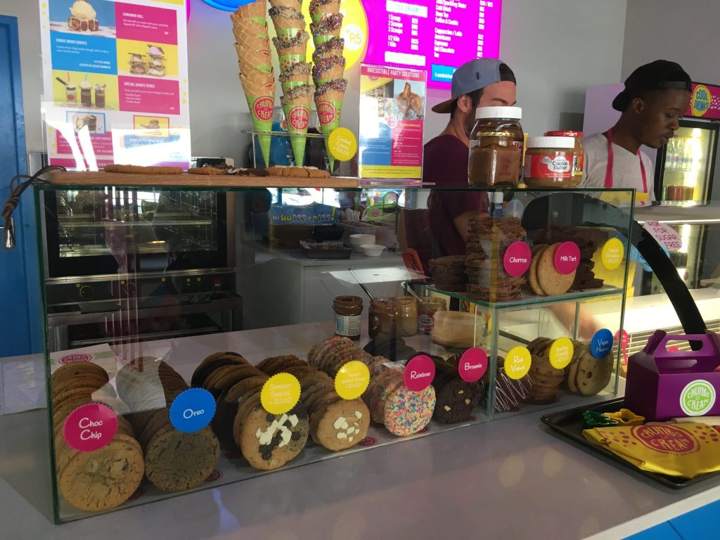 Inside Crumbs and Cream Sea Point