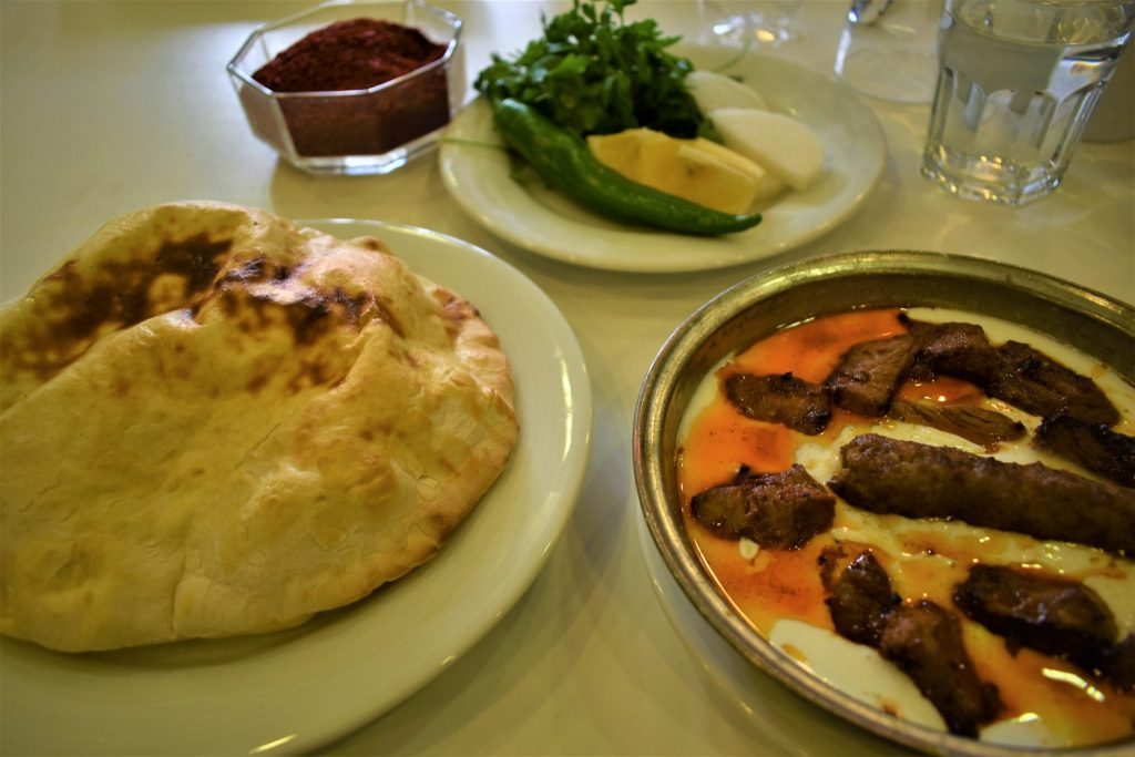 Lunch at Imam Cagdas in Gaziantep