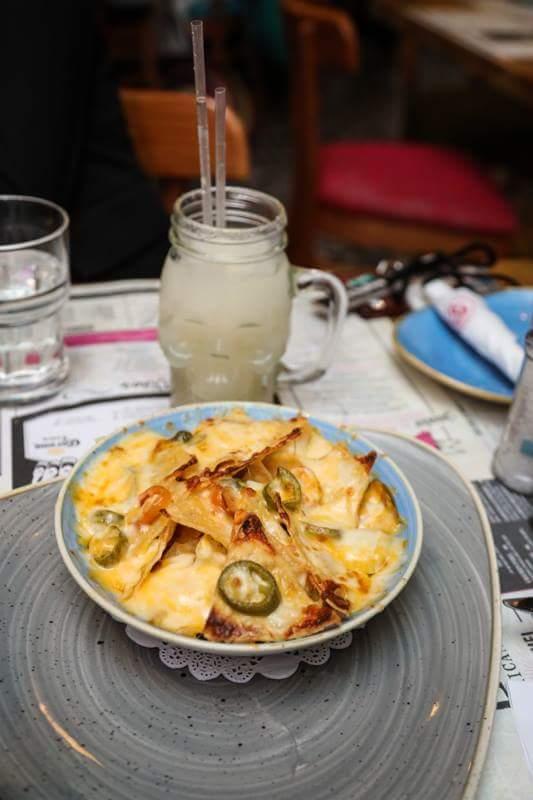 Food at La Rosa Mexican Grille