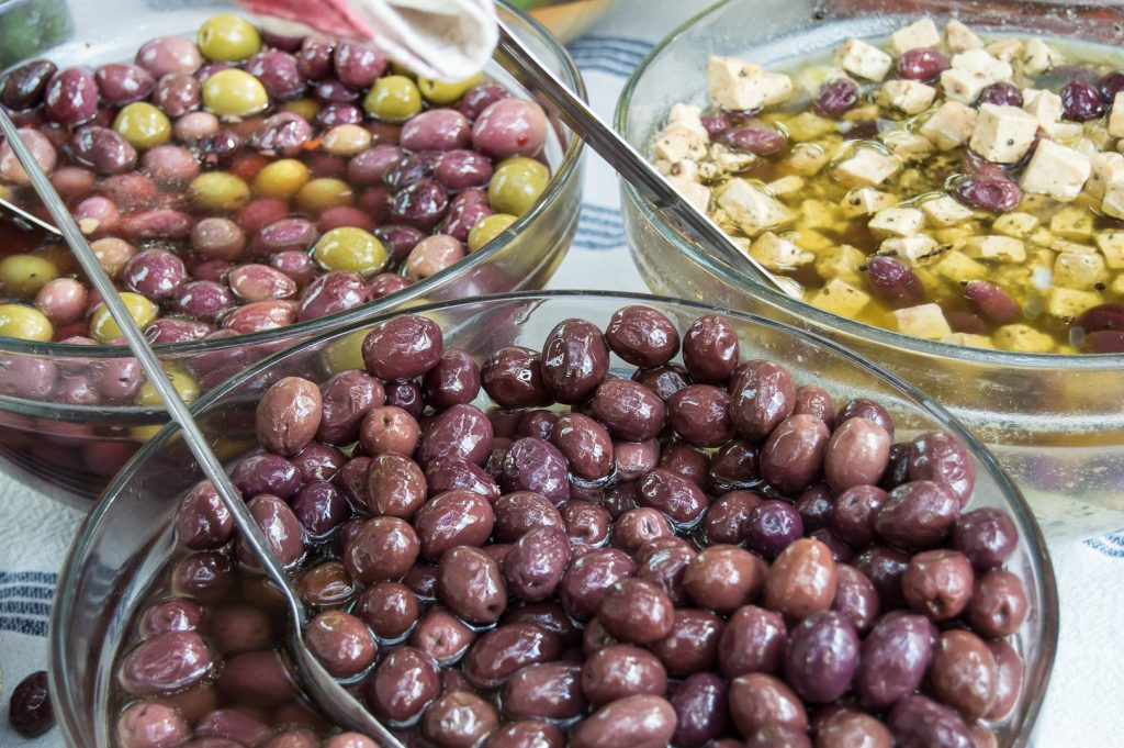 Olives in Wine in Riebeek Kasteel Valley