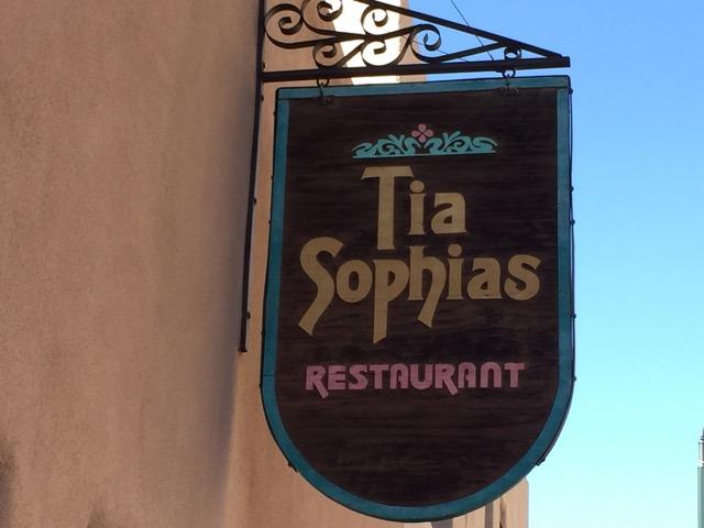 Tia Sophia's in Santa Fe