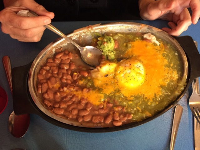 Huevos Rancheros at Tia Sophia's