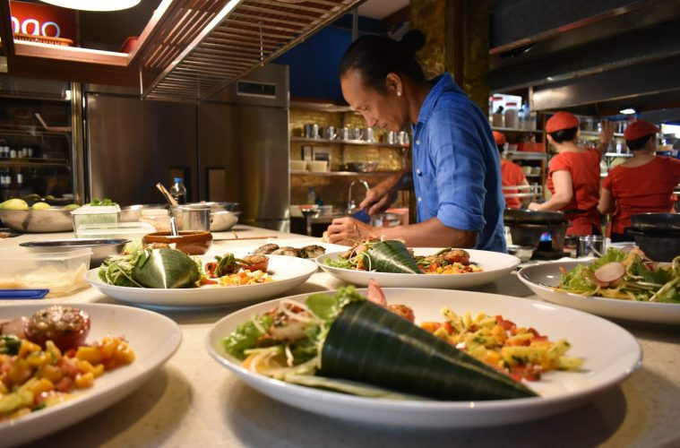 Tran Thanh Duc cooking
