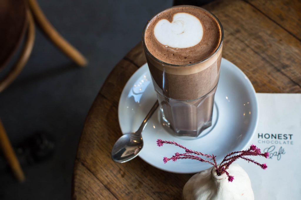 Coconut Cream Shake at Honest Chocolate Cafe