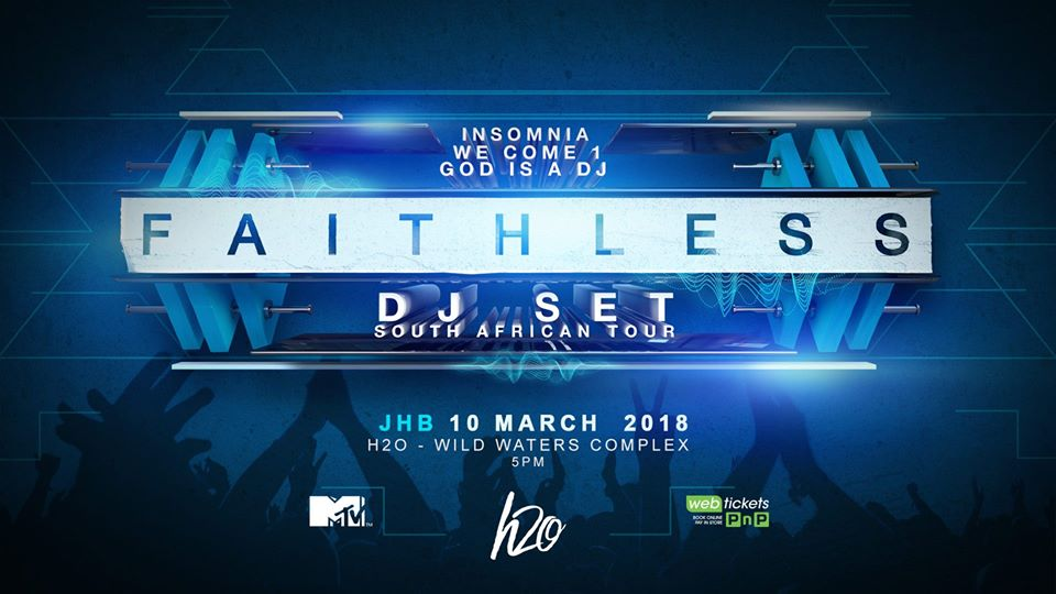 Faithless DJ Set Poster