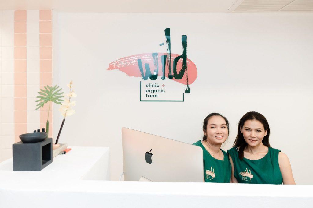 Bangkok's Wild Clinic Reception
