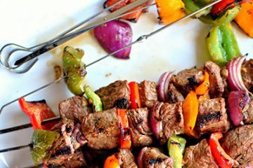 Our Top Braai Recipes, Grilled Steak Kebabs