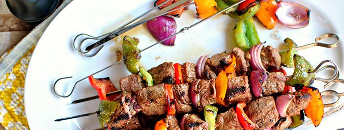 Our Top Braai Recipes, Grilled Steak Kebabs