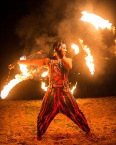 Fire Dancing at An Bang Beach Food & Music Festival