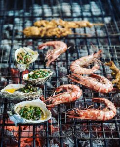 Shrimp on the Grill at An Bang Food & Music Festival