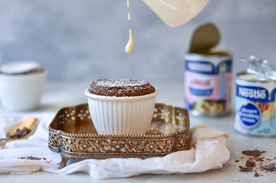 Image of the Date and Cardamom Soufflé
